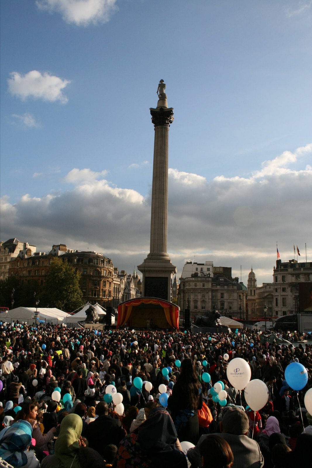 Eid celebration in Trafalgar Square » Spirit21